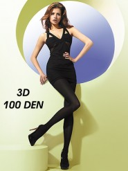 Rajstopy 100 den 3D z mikrofibry Gatta Florence 3D 100 den