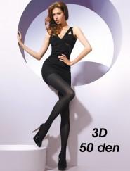 Rajstopy 50 den 3D z mikrofibry Gatta Florence 3D 50 den