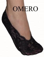 Stopki OMERO - z prawdziwej koronki.
