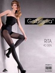 Rajstopy - idealna imitacja zakolanówek 40 den Gabriella  Rita